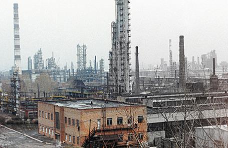 Московский нефтеперерабатывающий завод.