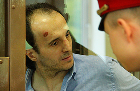 Юсуп Темирханов, обвиняемый в убийстве бывшего полковника Юрия Буданова.