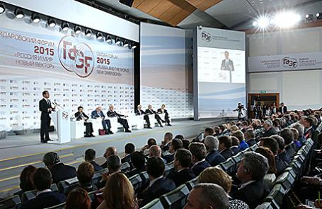 Гайдаровский форум. Москва, 14 января 2015.