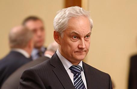 Помощник президента РФ Андрей Белоусов.
