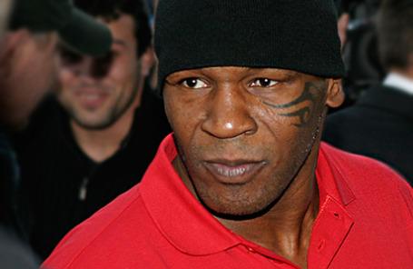 Экс-чемпион мира по боксу Майк Тайсон.