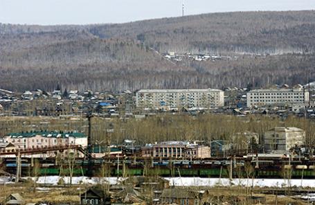 Амурская область. Вид на город Сковородино.