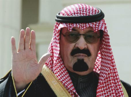 Король Саудовской Аравии Абдалла.