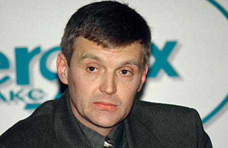 Экс-офицер ФСБ Александр Литвиненко. 17 ноября 1998 года