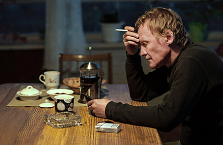 Актер Алексей Серебряков (Николай Сергеев) в кадре из фильма режиссера Андрея Звягинцева «Левиафан».