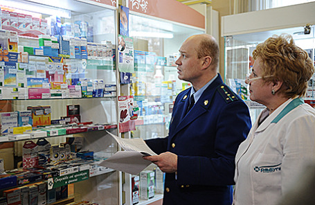 Проверка цен в аптеке прокуратурой