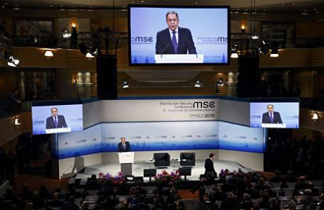 51-я Мюнхенская конференция по безопасности.