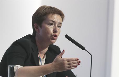 Руководитель Федерального агентства по управлению государственным имуществом Ольга Дергунова.