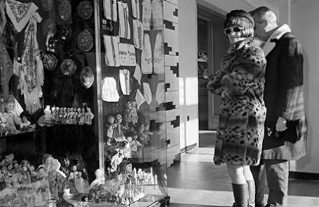Магазин «Березка» в Москве, 1968 год.