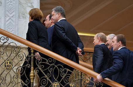 Встреча лидеров «нормандской четверки» в Минске.