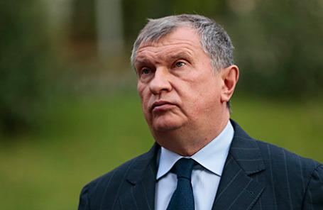 Бизнесмен Игорь Сечин.