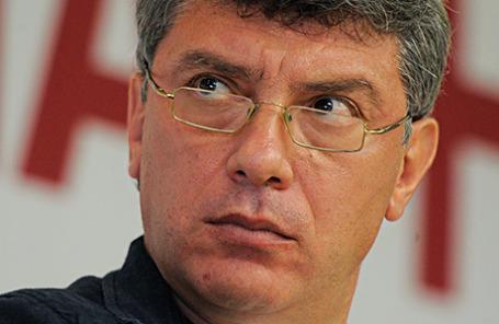 Лидер движения «Солидарность» Борис Немцов.
