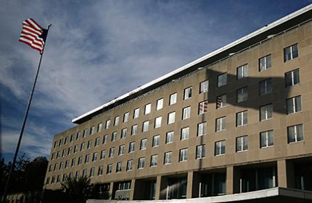 Здание Государственного департамента США в Вашингтоне.