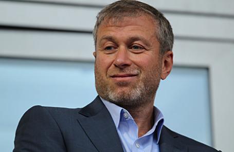 Бизнесмен Роман Абрамович.