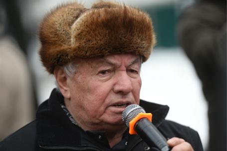 Писатель Владимир Войнович.