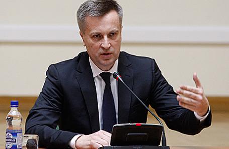 Председатель Службы безопасности Украины Валентин Наливайченко.