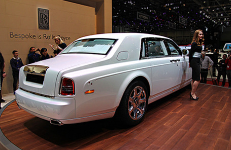 Rolls-Royce Phantom Serenity.
