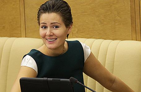 Член комитета ГД по культуре Мария Кожевникова.