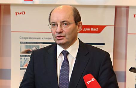 Первый вице-президент РЖД, гендиректор ОАО «Скоростные магистрали» Александр Мишарин.