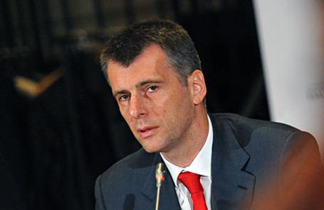 Лидер партии «Гражданская платформа» Михаил Прохоров.