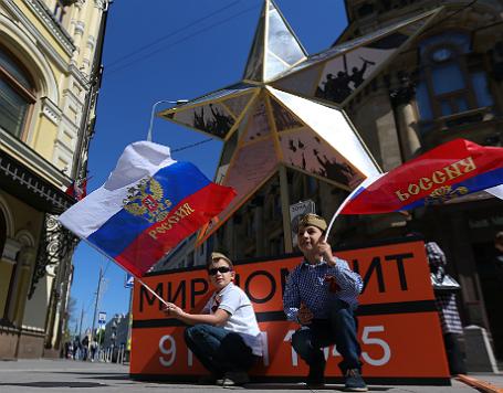 Праздничные мероприятия в честь Победы в Великой Отечественной войне.