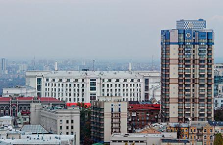 Вид на город Киев.