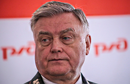 Президент ОАО «РЖД» Владимир Якунин.