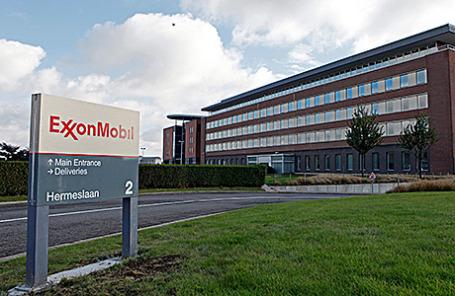 Офис компании ExxonMobil в Махелене, Бельгия.