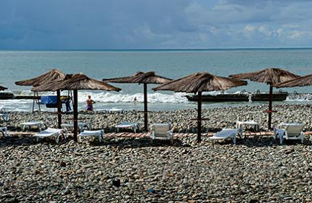 Сочи. На побережье Черного моря.