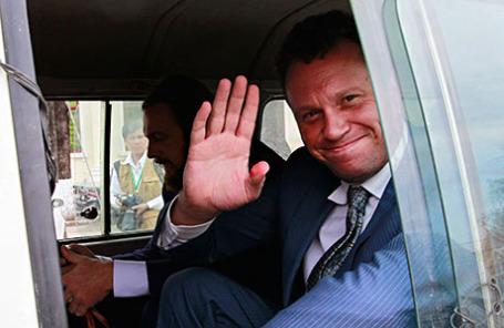 Российский бизнесмен Сергей Полонский.
