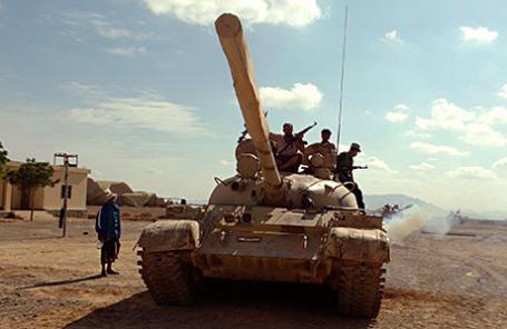 Войска, лояльные свергнутому президенту Йемена Абд Раббу Мансуру Хади.