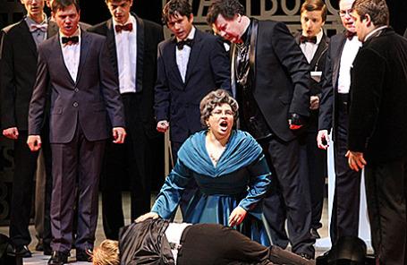 Опера «Тангейзер» в постановке Т.Кулябина в Новосибирском театре оперы и балета.