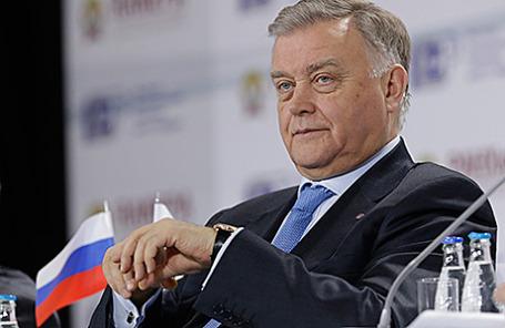 Президент РЖД Владимир Якунин.
