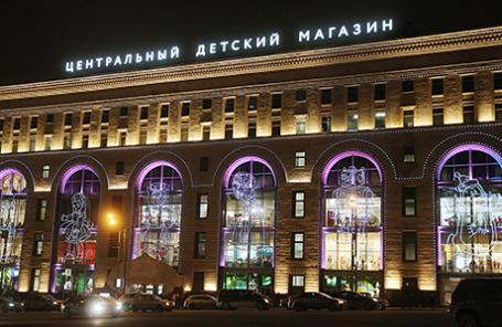 Здание «Центрального детского магазина» на Лубянке.