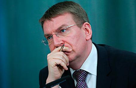 Министр иностранных дел Латвии Эдгарс Ринкевич.