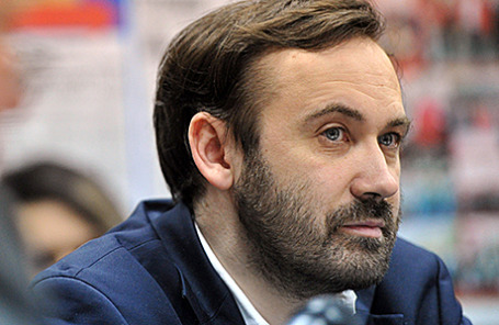 Депутат Госдумы РФ Илья Пономарев.