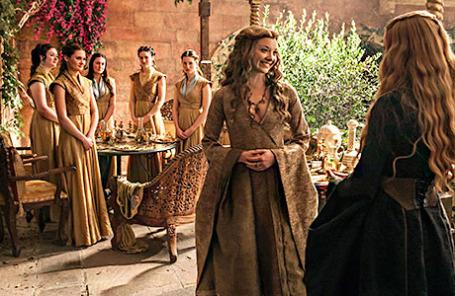 Кадр из нового сезона сериала «Игра престолов»