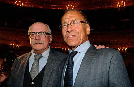 Режиссеры Никита Михалков и Андрей Кончаловский (слева направо).