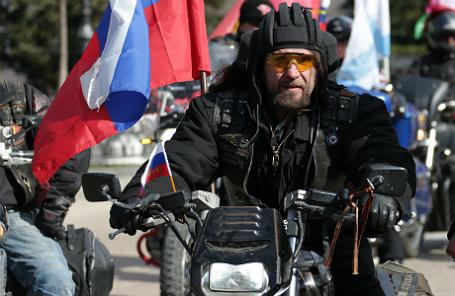 Лидер мотоклуба «Ночные волки» Александр «Хирург» Залдостанов.