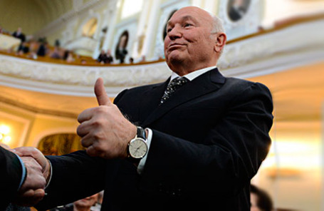 Бывший мэр Москвы Юрий Лужков.