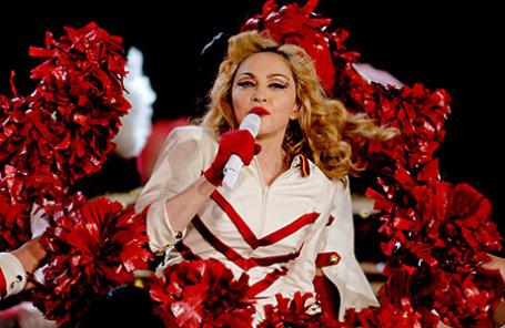 Певица Мадонна.