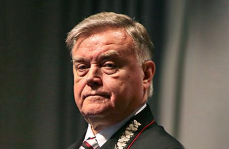 Президент ОАО «Российские железные дороги» Владимир Якунин.