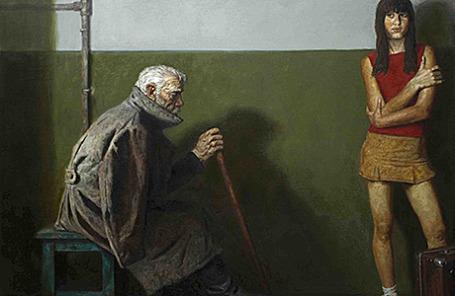 Гелий Михайлович Коржев «Внучка солдата», 2004.