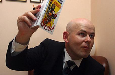Журналист Олесь Бузина.