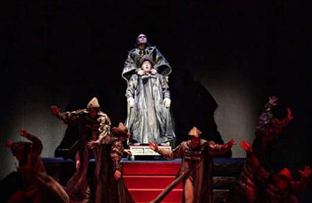 Сцена из  балета «Иван Грозный».
