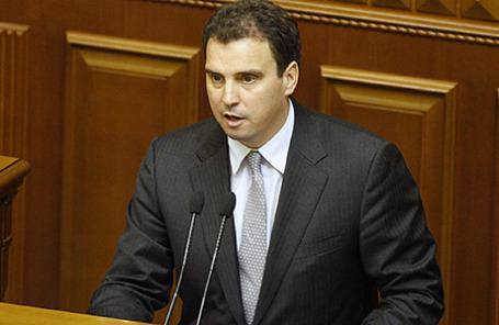 Министр экономического развития и торговли Украины Айварас Абромавичус.