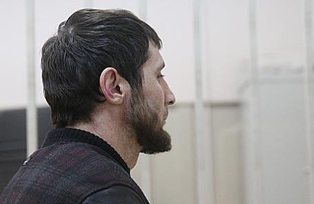 Обвиняемый в убийстве Бориса Немцова Заур Дадаев.