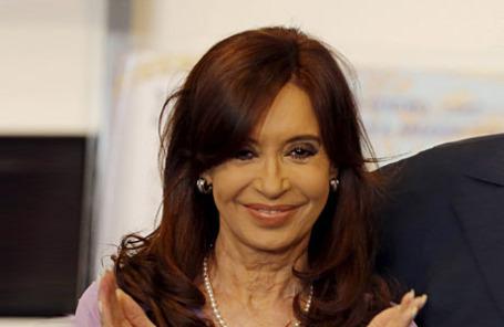 Президент Аргентины Кристина Киршнер.