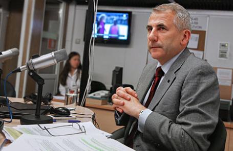 Глава представительства Евросоюза в России Вигаудас Ушацкас .