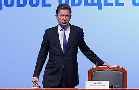 Глава «Газпрома» Алексей Миллер.
